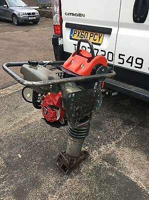 Belle Rt65 4 Stroke Petrol Trench Rammer Compactor Honda 2011 New Carb Fitted