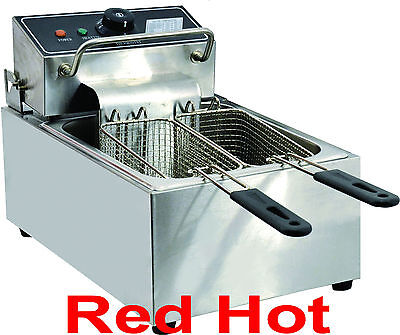 Omcan 34867 Commercial Counter Top Electric 6 Lb Deep Fryer CE-CN-0006