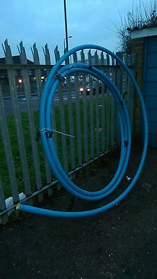MDPE Blue Service Water Pipe - 50 mm approx 17 m