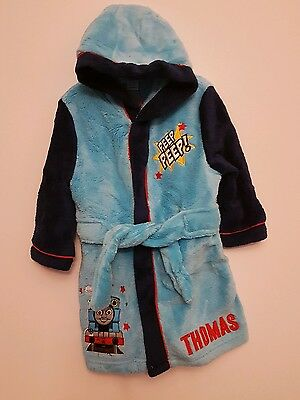 Thomas The Tank Engine Dressing Gown age 9-12 months  New Boys Blue