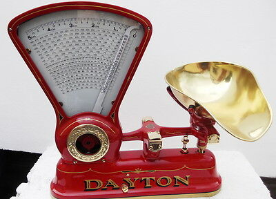 Prof. Restored Dayton 167 Candy Scale Red 5 Lb. Scales