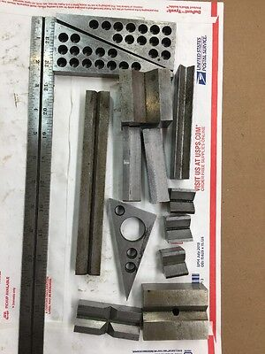 Misc Angle & V Block Machinist Made Precision Hardened & Ground Layout J306
