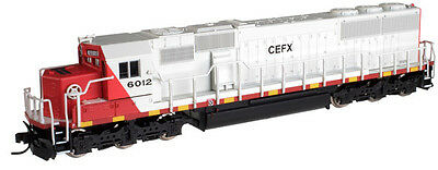 ATLAS 49140 N Scale  SD60 With DC/DCC CEFX Leasing #6016 Locomotive  - NEW