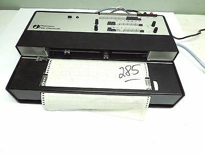 PHARMACIA FINE CHEMICALS REC-482 CHART RECORDER with leads and cord