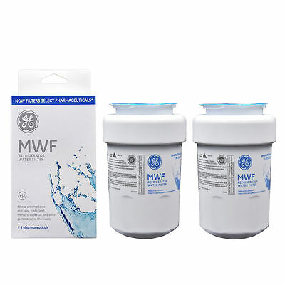 2 Pack Genuine GE MWF MWFP GWF 46-9991 General Electric Smartwater Water Filter