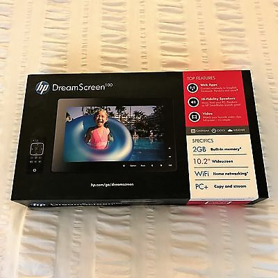 """HP DreamScreen 100 10.2"""" Wireless Connected Screen - Barely Used!"""