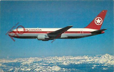 Postcard: Air Canada Boeing 767 [Airline Issue]