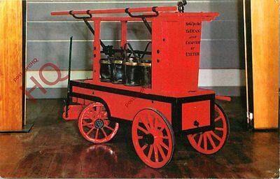 Postcard: NEWSHAM-TYPE FIRE ENGINE, FROM EXETER CATHEDRAL