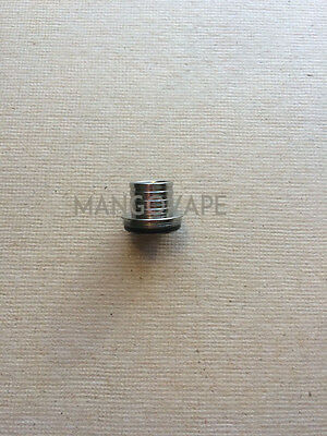 Aspire Triton Pegasus Mini - Silver Top Fill Screw on Cap under drip tip