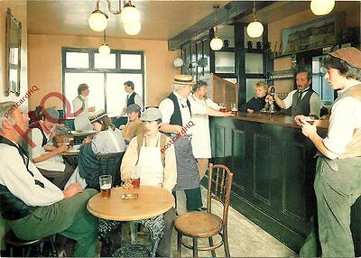 Postcard: The Ironbridge Gorge Museum, Interior Of The New Inn At Blists Hill