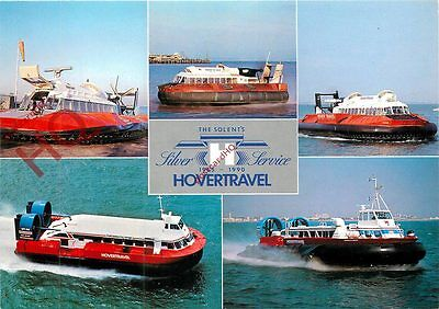 Postcard: HOVERTRAVEL HOVERCRAFT ON THE SOLENT (MULTIVIEW)