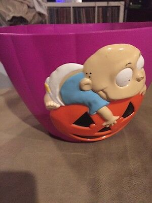 Nickelodeon Rugrats Halloween Candy Bucket 1998