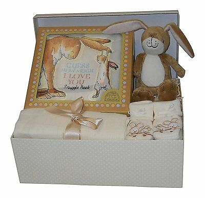 Unisex Baby Hamper Gift Box - Baby Shower Gifts Newborn Gifts