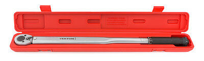 1/2 Inch Drive Click Torque Wrench 25-250 Ft./Lb. - NEW from TEKTON