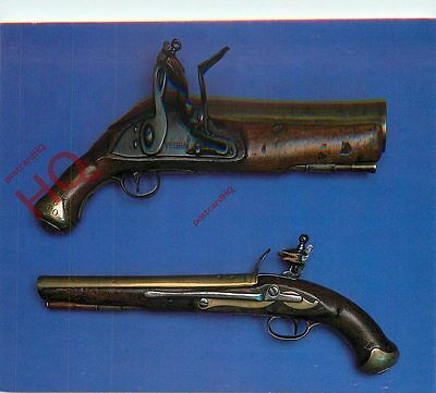 Postcard: National Postal Museum, Flintlock Maritime Pistols From Packet Boats