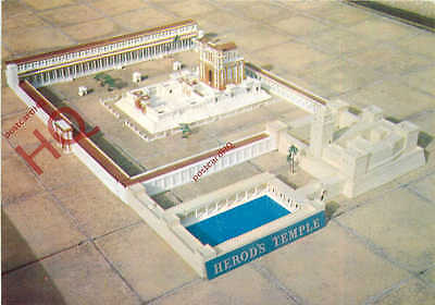 Postcard: Jerusalem, Model Of Herod's Temple [Dennis]