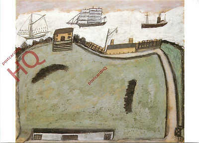 Postcard: St. Ives, The Island, Alfred Wallis