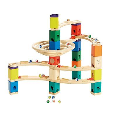Hape Quadrilla Wooden Marble Run Construction - Whirlpool - Quality Time Play...