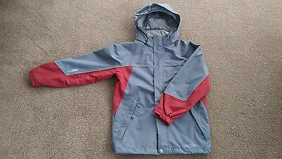 "Boys ""Wild Country"" Finetex waterproof rain jacket with hood Size 8-9"