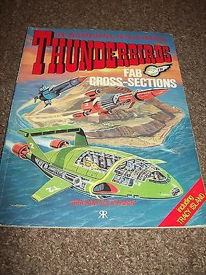 Thunderbirds FAB Cross-Sections Paperback Book Great Condition Gerry Anderson