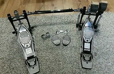MAPEX JANUS Ergo Double Bass drum pedal