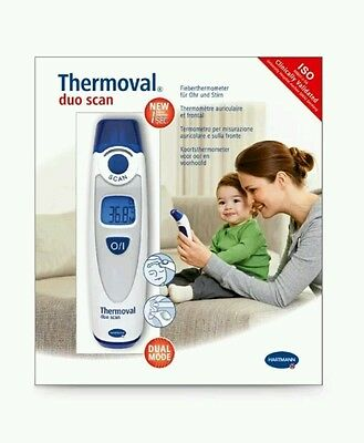 Thermomètre Thermoval Duo Scan HARTMANN - auriculaire et frontal