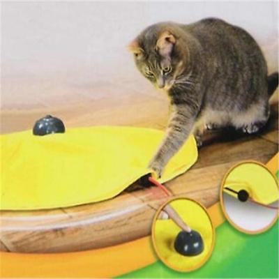 Electronic Cat Toy Fabric Cat's Meow Undercover Fabric Moving Mouse Fun