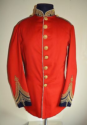 Victorian Officers Tunic Bombay Staff Corps 1868 Pattern Majors Tunic British