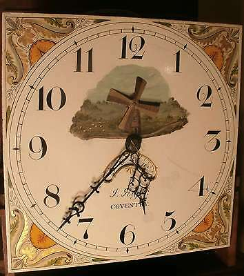 """Antique  Oak Automation """"Coventry""""  Longcase / Grandfather Clock"""