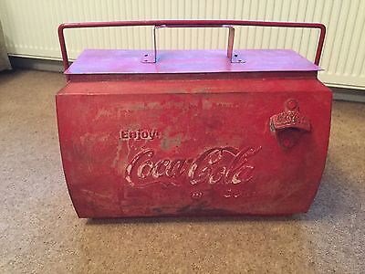 Coca-Cola Vintage  Cooler ice Box