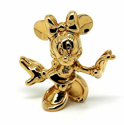DISNEY Minnie Mouse 18kt Gold Limited 75 Years of Fun Anniversary Figur 36,9g