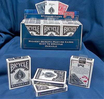 Bicycle Standard Rider Back 808 Playing Cards***BLACK DECK*** Sealed. QTY:1 DECK