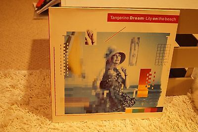 "Tangerine Dream  Lily on the Beach  12"" Vinyl LP Electronic"