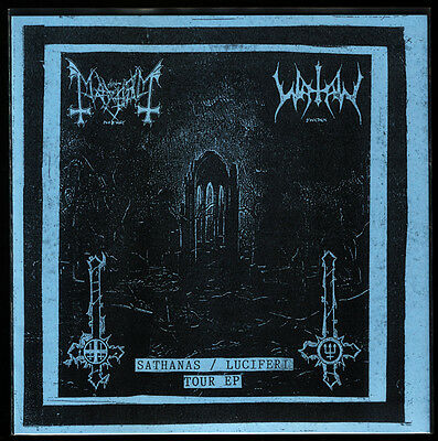 "MAYHEM WATAIN SPLIT 7"" LIMITED 500 NEU MINT Black Metal Vinyl Darkthrone Taake"