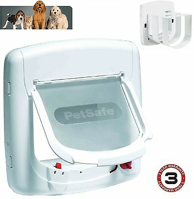 Staywell Petsafe 300 cat flap / pet door 4 way upvc deluxe door catflap 300
