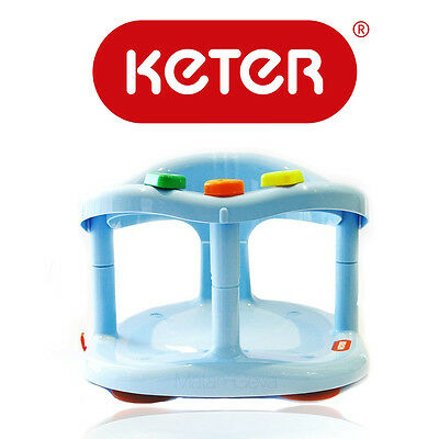 Baby Bath Ring Seat Tub Infant New Keter Safety Chair Anti Slip Original Quality