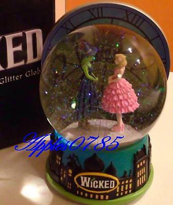Wicked The Musical Snow Globe Dancing Through Life 10th Anniversary