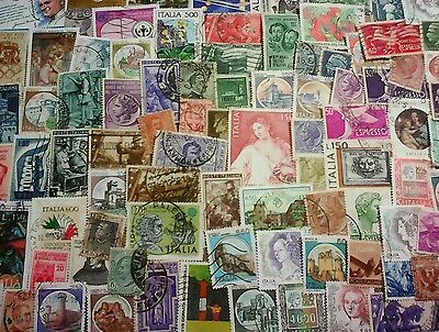 Italy, Stamps, 88 different off paper