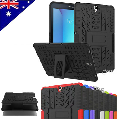 Heavy Duty Tough Strong Case Cover for Samsung Galaxy Tab S2 8.0 9.7 | S3 9.7""