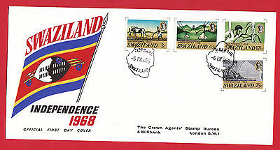 Swaziland 1968 - Independence FDC.