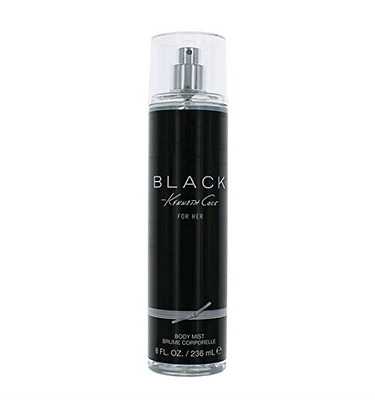 Kenneth Cole Black By Kenneth Cole For Her Body Mist  8oz/236ml New Unbox