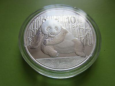 2015 Chinese Panda 1oz Silver Coin (mint condition in capsule)