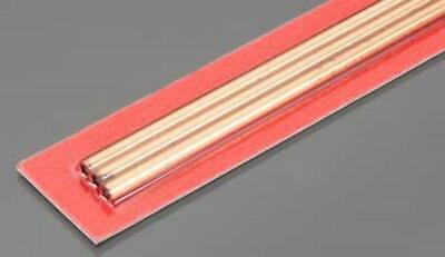 K&S Round Copper Tube 4mm OD x .36mm Wall (3) 9872