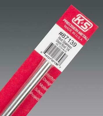 K&S Stainless Steel Round Rod 1/4Inch (1) 7139