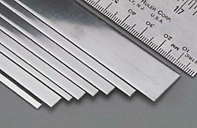 K&S Stainless Steel Strip .018x3/4Inch (1) 87159