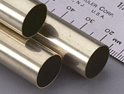 K&S Round Brass Tube 9/16Inch /14.27 (1pc). KS 8141