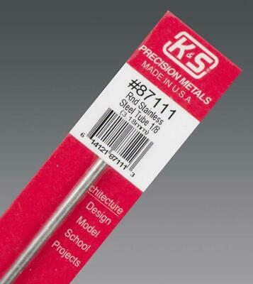 K&S Round Stainless Steel Tube 1/8Inch (1) 87111