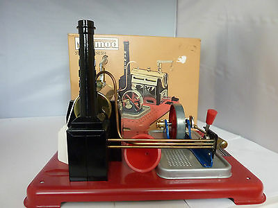 Mamod Static / Stationary Steam Engine - Sp4 - Boxed - ( Never Used - 1979 ?)