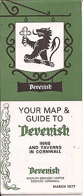 Devenish (Weymouth Brewery) leaflet 1977 - free pp(UK)