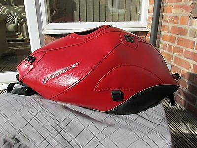 Yamaha Fz1 Bagster Tank Cover-2008-Red And Black-For Half Faired Bike Excellent